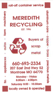 MeredithRecycling